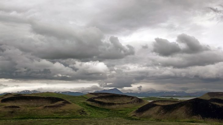 Petits cratères islandais