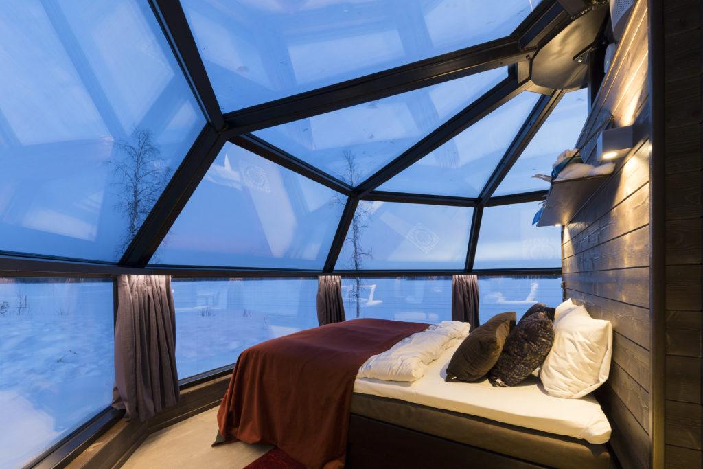 Notre chambre au coeur de la forêt boréale, Nord Espaces