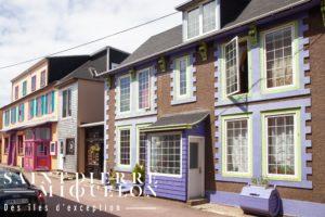 Saint-Pierre-et-Miquelon, maisons de Saint-Pierre