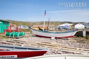 Les doris de Saint-Pierre-et-Miquelon