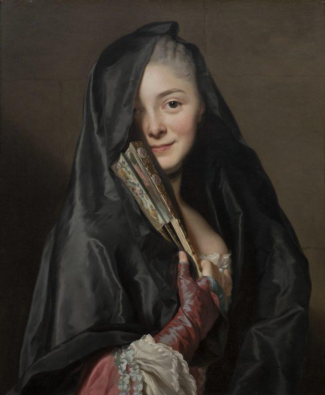 Dame au Voile, Alexander Roslin, Musée National, Stockholm
