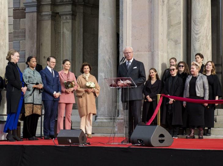 Inauguration du Musée National rénové à Stockholm
