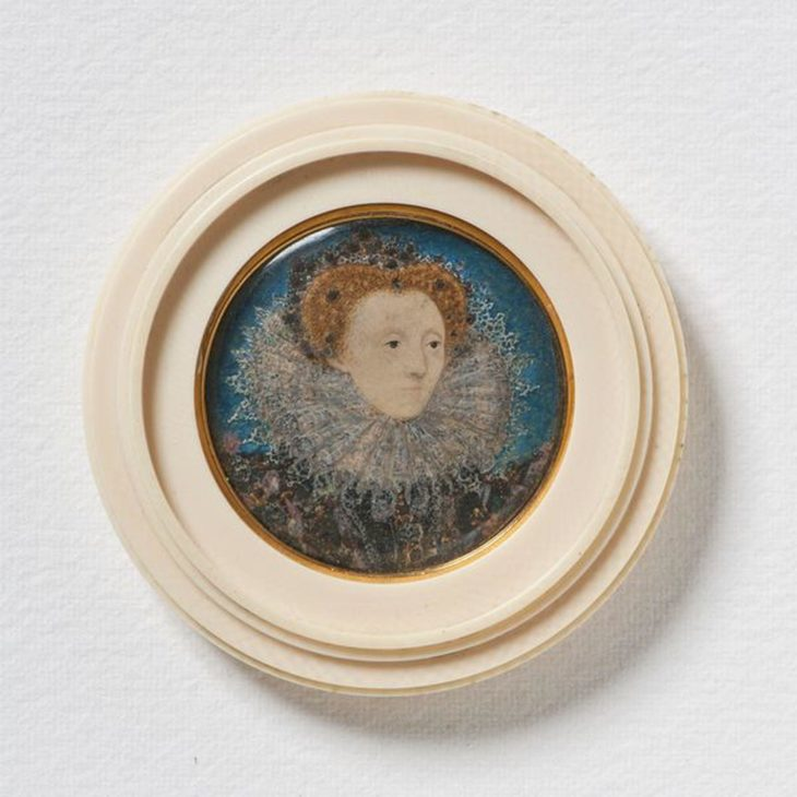 Portrait de la Reine d'Angleterre Elisabeth 1ère, Musée National, Stockholm