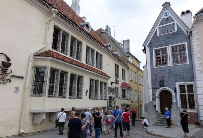 Pharmacie de l'Hôtel de Ville, Tallinn, photo Sébastien de Nord Espaces