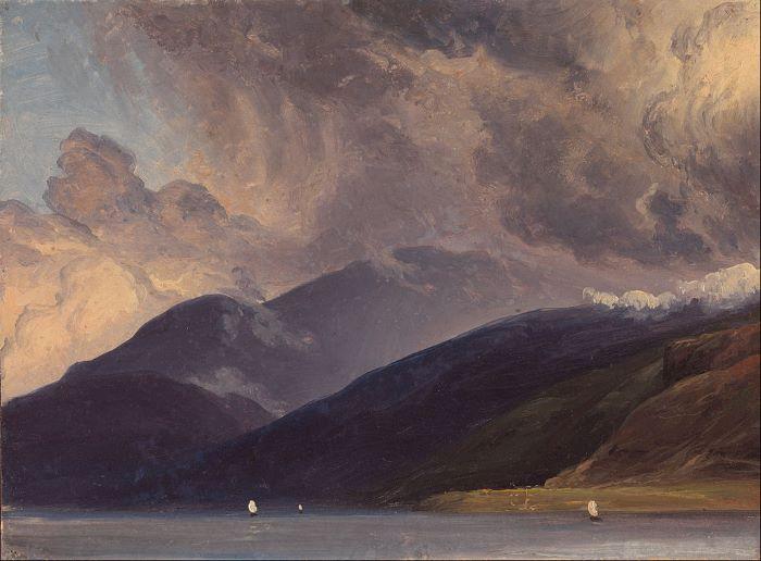 Thomas Fearnley, Le Sognefjord vu depuis Balestrand, 1833