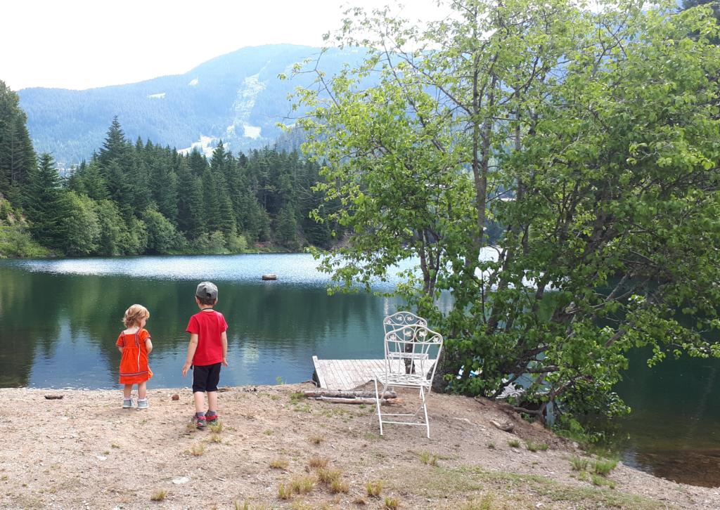 Mes enfants, mon mari, la nature... Le bonheur ! Photo : Natacha de Nord Espaces