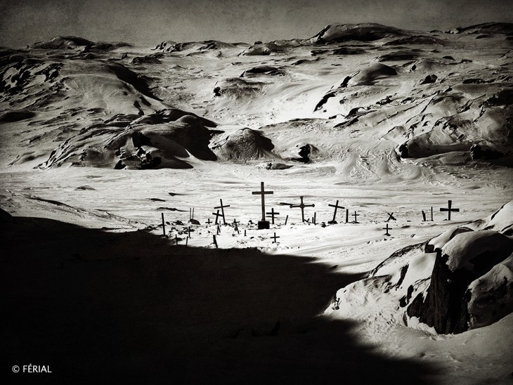 Férial, résidence « Artistes en Arctique », 2018