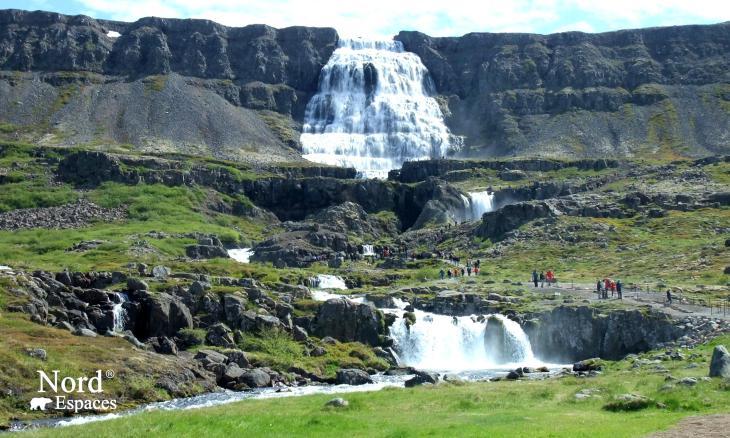 Chutes de Fjallfoss, Islande