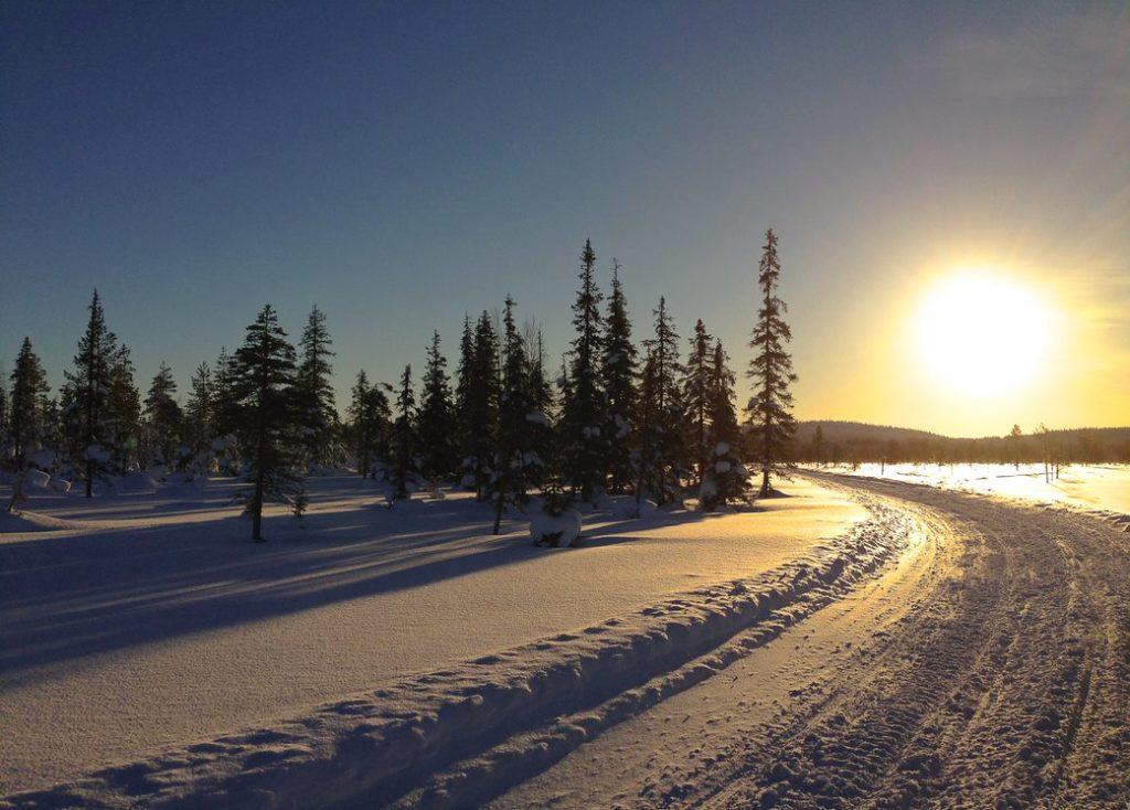 Région d'Ylläs en Finlande, Andrea de Nord Espaces