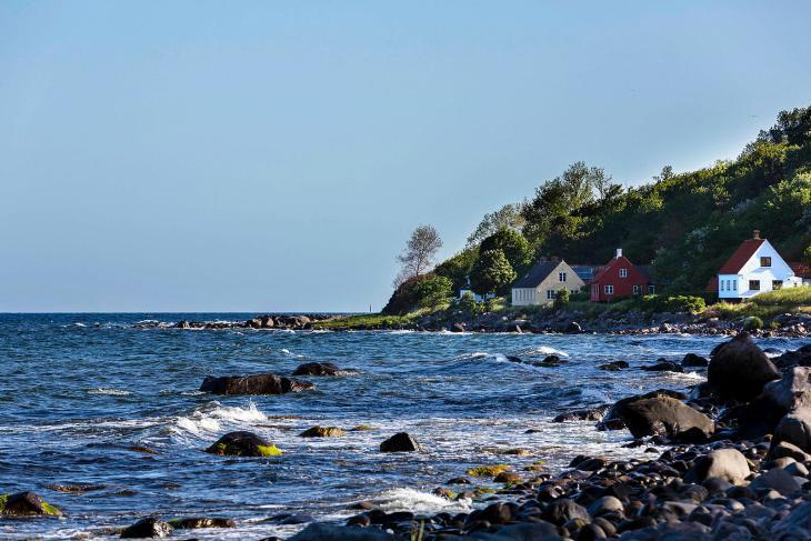 Danemark, île de Bornholm, port de Helligpeder © Arnaud Robin