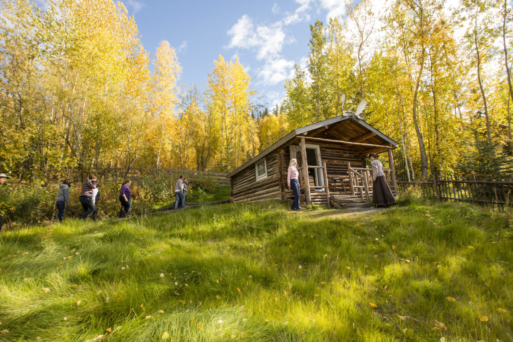 Cabane au Yukon, photo Destination Canada