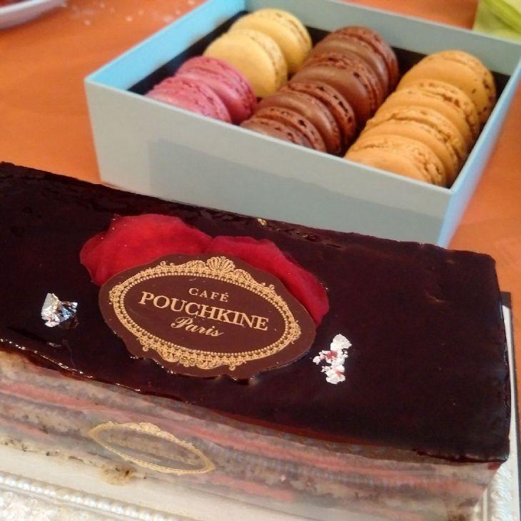 Délices du Café Pouchkine à Paris - Nord Espaces
