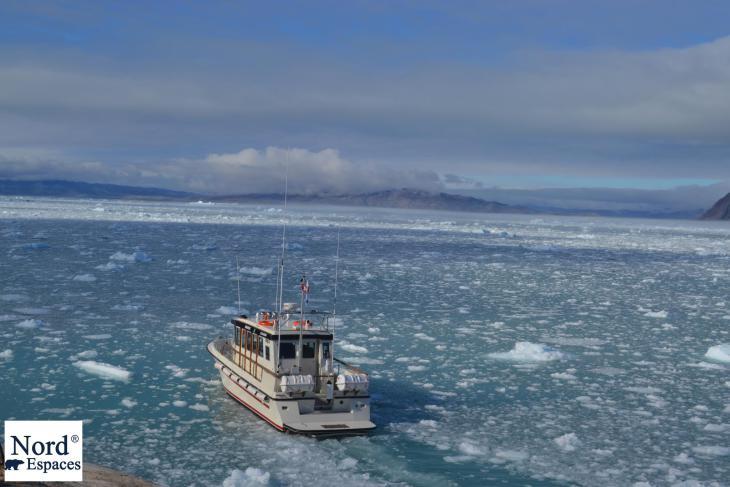 Navigation au Groenland - Nord Espaces Boréalis