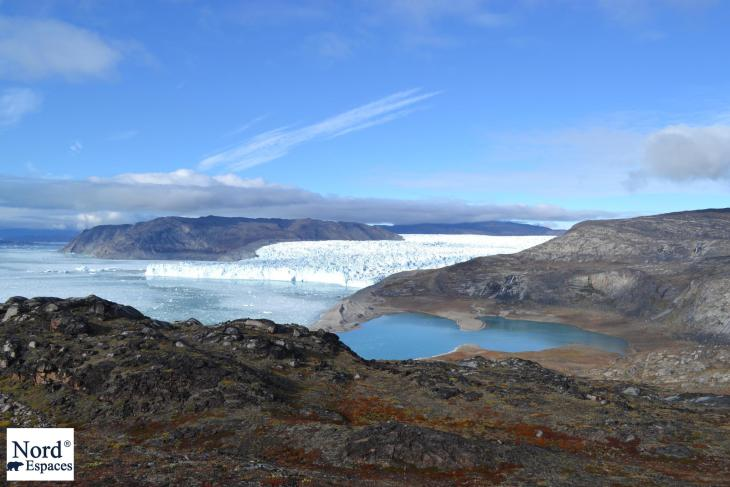 Glacier Eqip Sermia au Groenland - Nord Espaces Boréalis