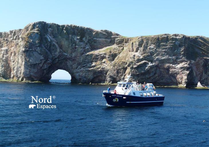 L'île de Bonaventure en Gaspésie