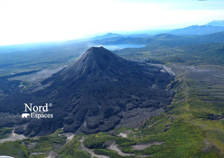 Volcan au Kamtchatka, Russie