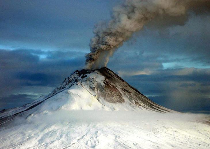 Éruption en Alaska