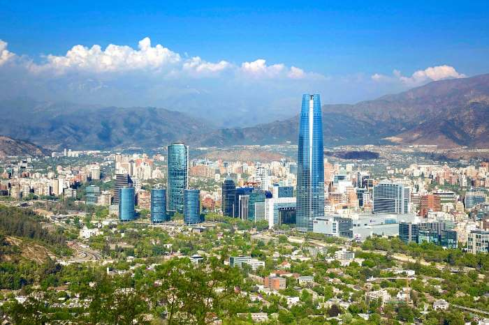 Santiago du Chili par Horst Engelmann