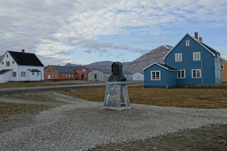 Ny Alesund, Spitzberg, Norvège