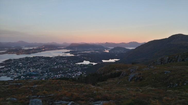 Ålesund vue du Sulafjellet, Norvège - Nord Espaces