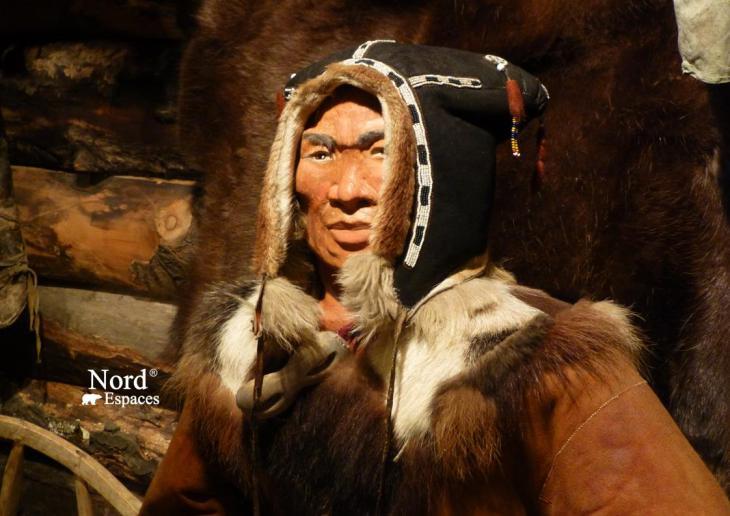 Au musée ethnographique d'Esso, Kamtchatka, Russie
