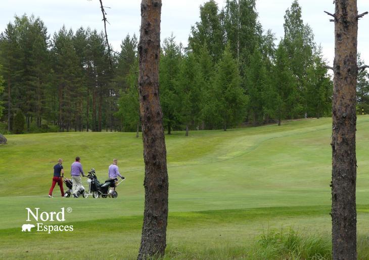 Golf à Tampere, Finlande - Nord Espaces
