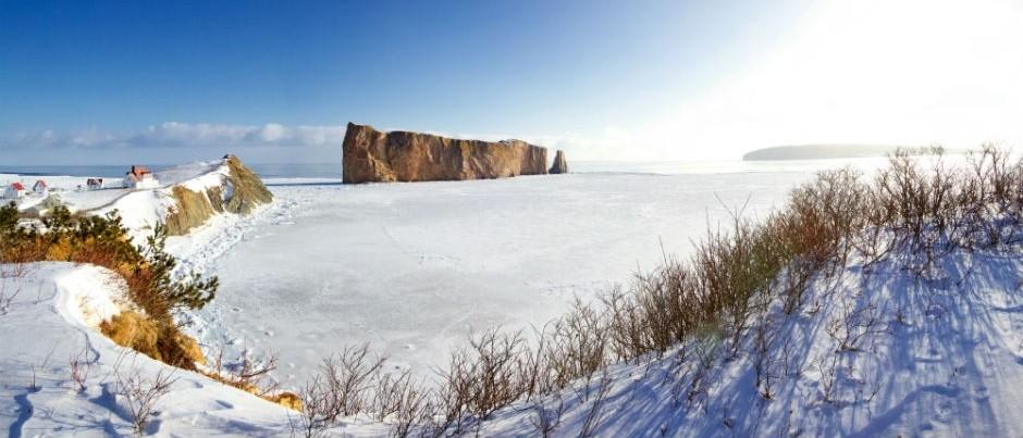 Le Rocher Percé en Gaspésie, Québec