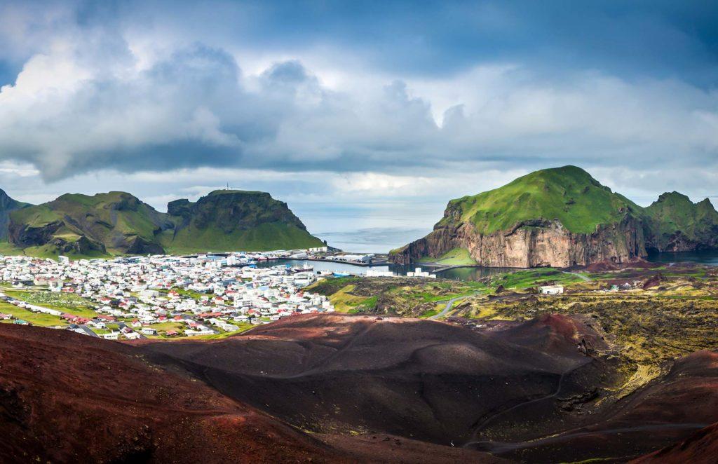 Île d'Heimaey aux îles Vestmann, Islande