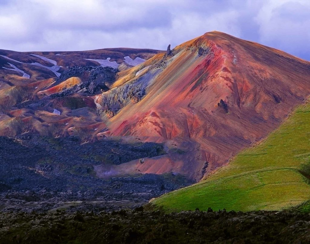 Vallée de Landmannalaugar, Islande