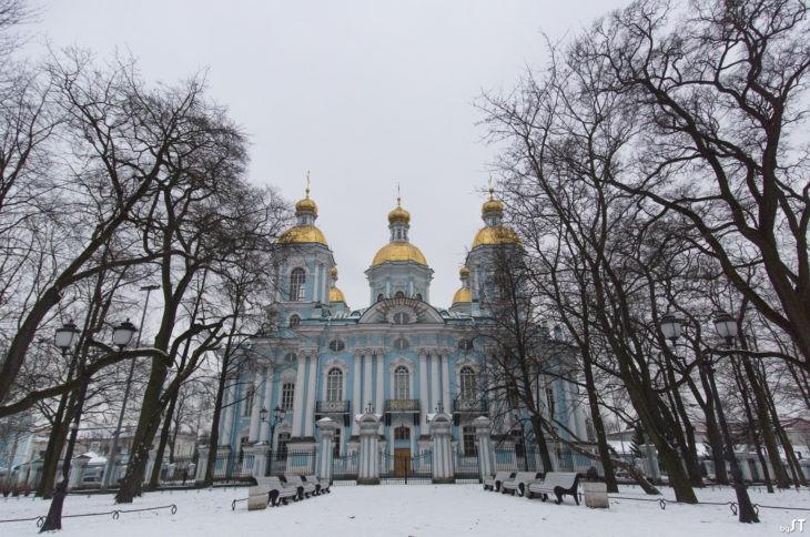 Cathédrale Saint-Nicolas-des-Marins de Saint-Pétersbourg - Nord Espaces