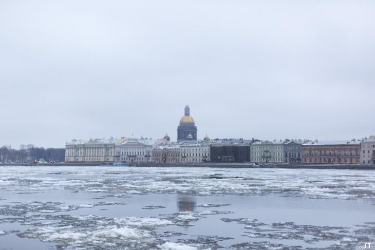 La Neva à Saint-Pétersbourg - Nord Espaces