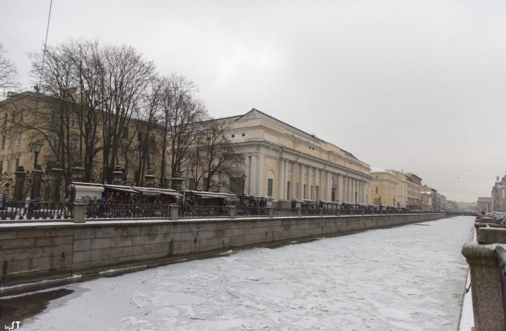 Un canal à Saint-Pétersbourg - Nord Espaces