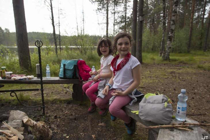 A Kuhmo, Carélie Finlandaise
