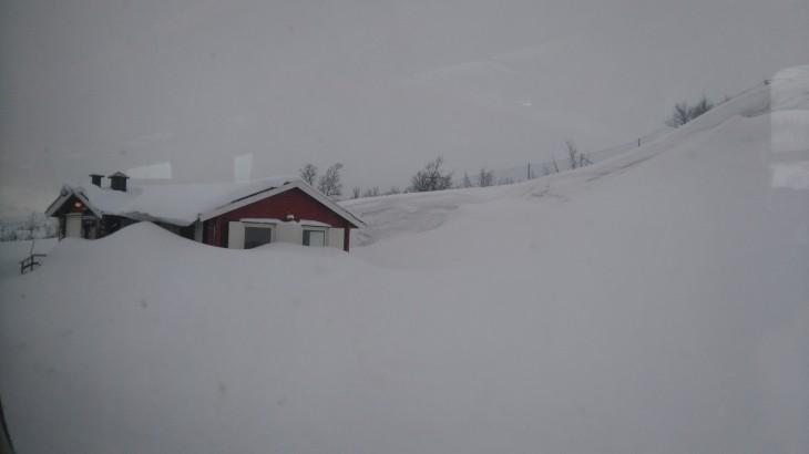 Le long de la ligne ferroviaire Kiruna - Narvik avec Nord Espaces