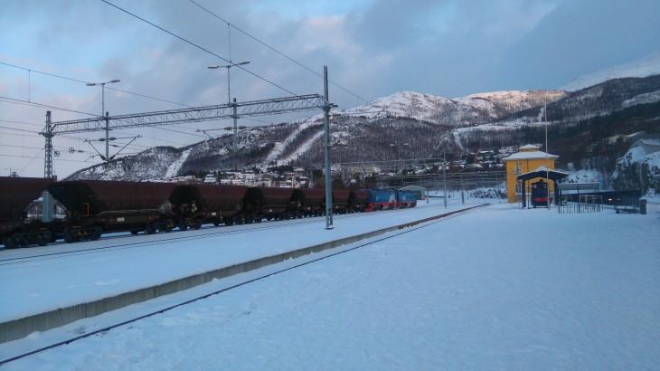 Ligne ferroviaire Kiruna (Suède) - Narvik (Norvège) avec Nord Espaces