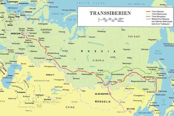 Voyage Grand Transsiberien A La Carte Nord Espaces