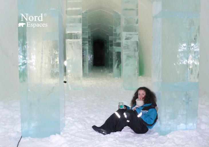 Au Ice Bar en Suède