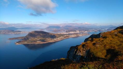 Vue du Sulafjellet, Norvège - Nord Espaces
