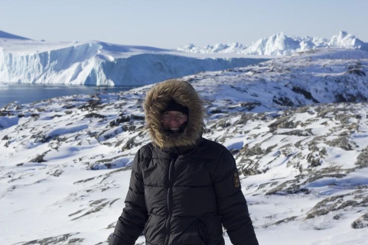 Stéphanie au Groenland avec Nord Espaces