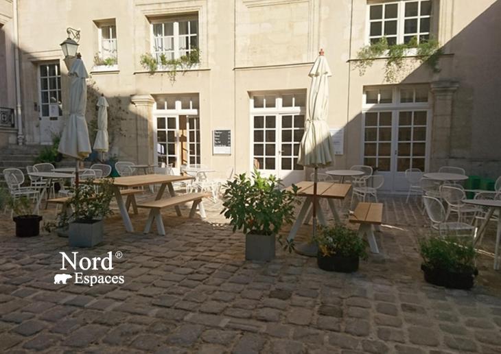 L'Hôtel de Marle à Paris, dans le Marais, siège de l'Institut Suédois