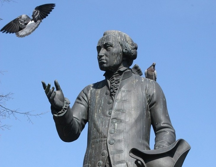 Monument à Emmanuel Kant, Kaliningrad