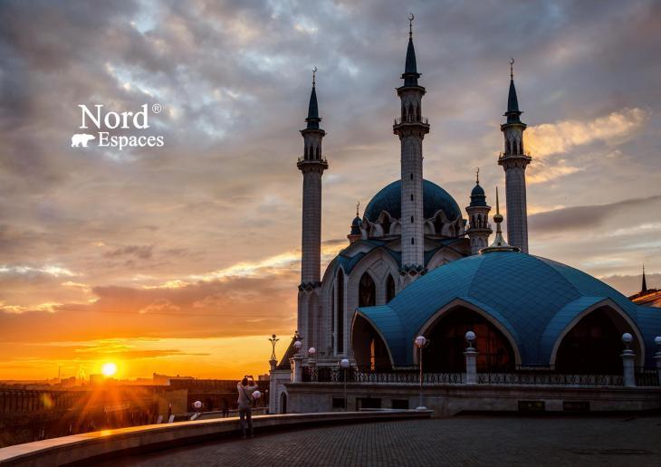 Mosquée Qolsharif, kremlin de Kazan, Russie - Nord Espaces