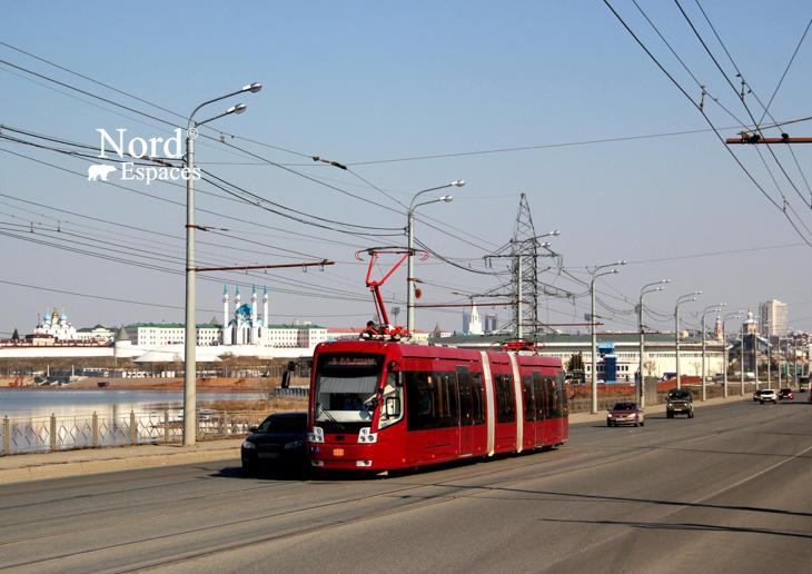 Tramway de Kazan, Russie - Nord Espaces