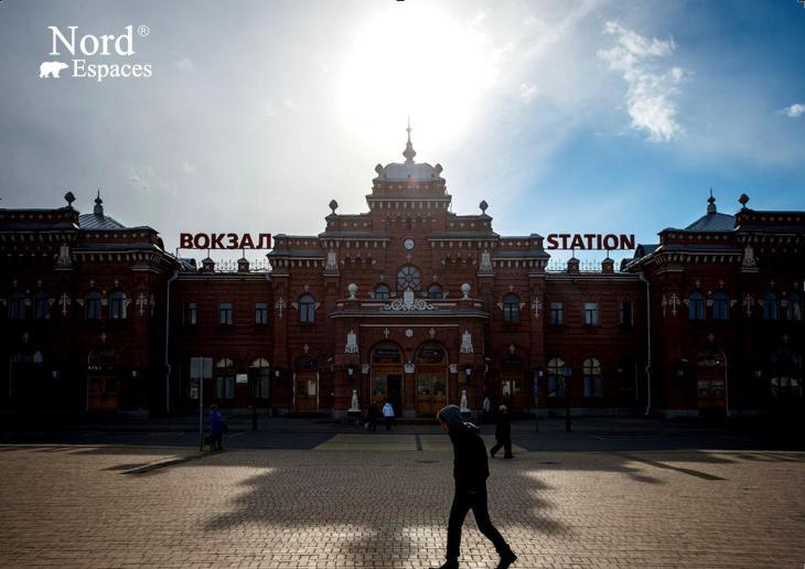 L'une des gares de Kazan, Russie - Nord Espaces