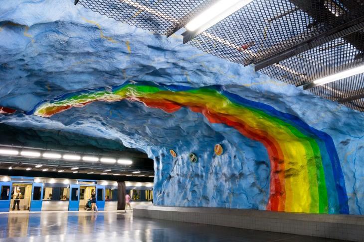 Métro de Stockholm - Nord Espaces