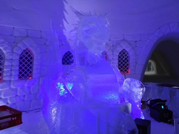 Hôtel de glace Game of Thrones en Laponie finlandaise - Nord Espaces