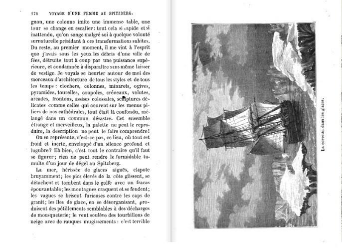 Voyage d'une femme au Spitzberg, Léonie d'Aunet, 1854