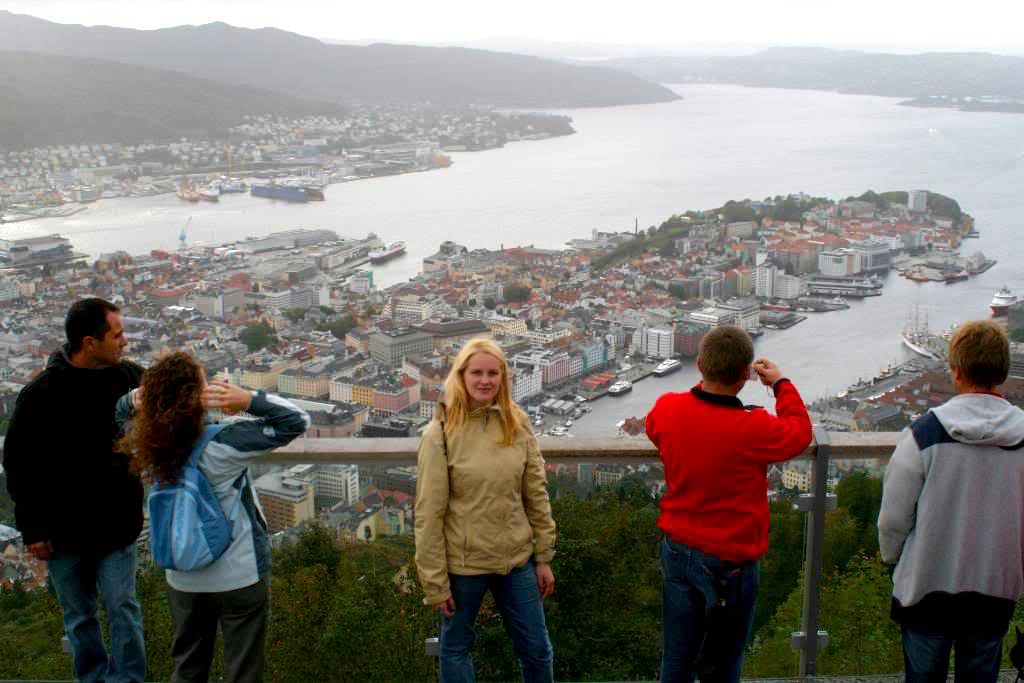 Bergen vue panoramique