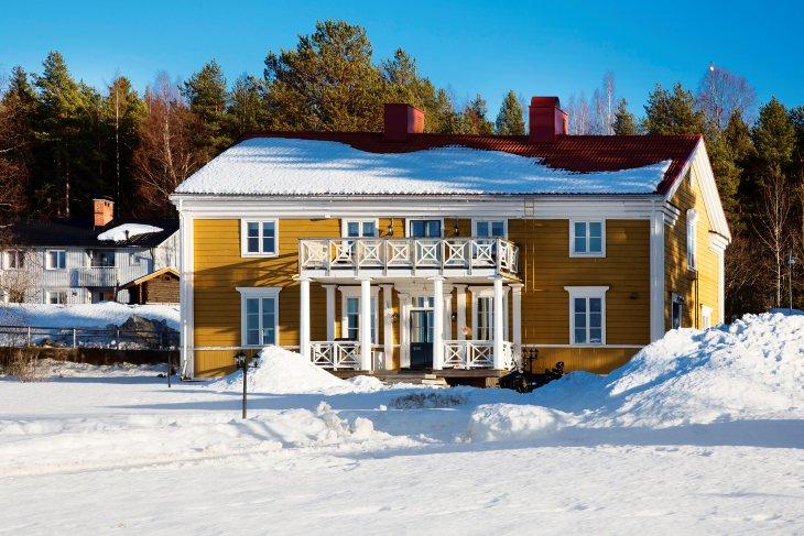 Hôtel près d'Aavasaksa, Suède