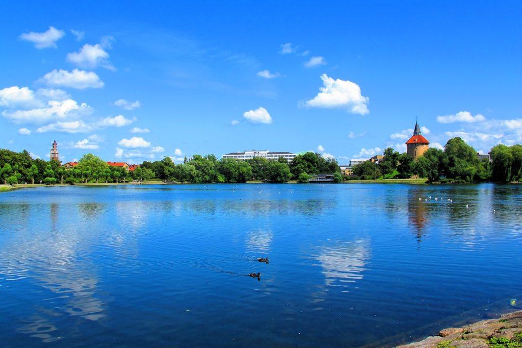 malmo son lac et chateau